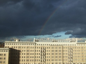 Karl-Marx-Allee Berlin Wohnblocks Mehrfamilienhaus Miete