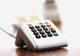 Kartenlesegeraet zur Zahlung mit EC-Karte