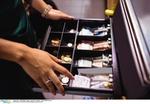Kasse Geld Umsätze Erlöse