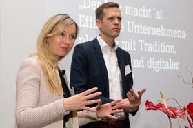 Katharina Hagl und Stefan Pierer von Esch