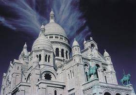 Kirche Sacre Coeur, Paris, Frankreich