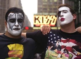 Kiss-Fans nach dem Kiss Reunion Concert @Meg Handler