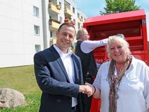 Neue Lübecker unterstützt Sozialkaufhaus
