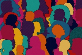 Köpfe Menschen Diversity