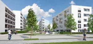 Konversionsprojekt in Mannheim auf Kasernengelände