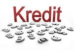 Kredit als Wort_Währungssymbole