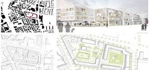 Offenburg: Wettbewerb für Kronen Quartier entschieden