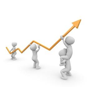 Kurve Anstieg Frauenquote