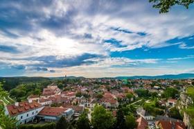 Ländliche Region Dorf Kleinstadt