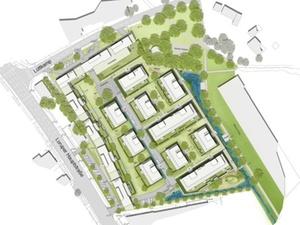 Neubau: Neues Quartier in Hamburg-Lurup