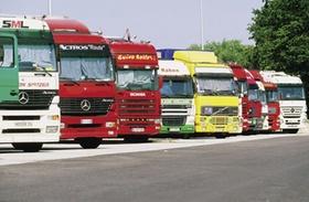 Lastwagen Parkplatz