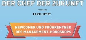 Der Chef der Zukunft: Newcomer des Management-Horoskops