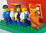 Lego Arbeiter