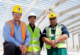Leighton-Mitarbeiter in Abu Dhabi