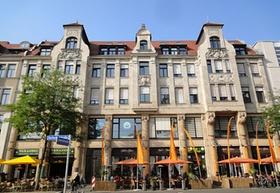 """Leipzig Geschäftshaus """"Gottschedstraße""""_Aengevelt"""