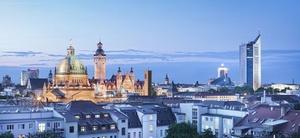 Leipzig ist erstmalig vertreten