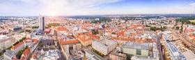 Leipzig Stadtansicht Wohnhäuser