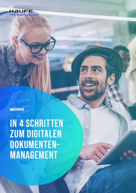 Leitfaden: Umstellung auf ein digitales HR-Dokumentenmanagement