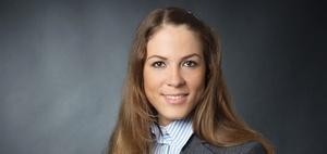 Linda Saurenz leitet Property Management bei IC in Düsseldorf