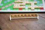 Lockdown Buchstaben Scrabble