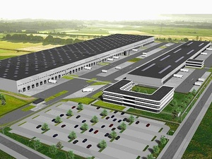Habacker baut Logistikanlage für DSV in Westerkappeln