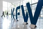 Logo KfW_Bank von innen