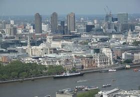 London Stadtansicht