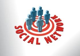 Männchen im Social Network