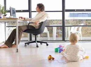 Häusliches Arbeitszimmers zu Fortbildungszwecken