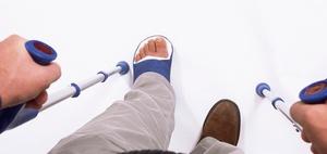 Sturz in Kantine einer Reha-Klinik kein Arbeitsunfall