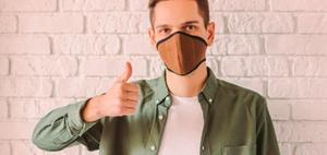 Wie lange sollte eine Schutzmaske maximal getragen werden?