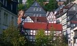 Marburg, Marienkirche, Schloss, Hessen, Deutschland