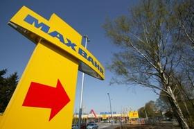 Max Bahr Einkaufszentrum Eingangsschild