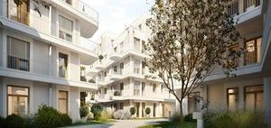 Formart baut 116  Eigentumswohnungen in München