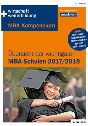 Die wichtigsten MBA-Schulen 2017 2018
