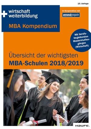 Die wichtigsten MBA-Schulen 2018 2019