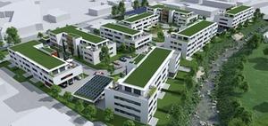 Modulbau: neues Wohnquartier in Geislingen