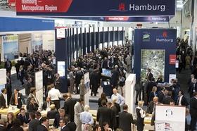 Messestand Hamburg auf der Expo Real