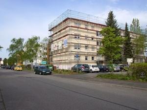 Sanierung in Michelstädter Straße schreitet voran