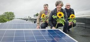 Photovoltaik-Anlage in Berlin errichtet