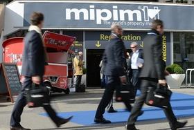 Mipim Registration area