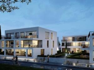 Umnutzung: Mehrfamilienhäuser auf ehemaligem Industriegelände