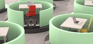 New Work: Großraumbüros bringen Vorteile und Stress