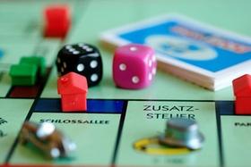 Monopoly Brettspiel Ausschnitt