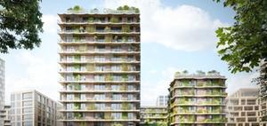 Cradle-to-Cradle-Wohnhochhaus: Mehrwert für die Umwelt
