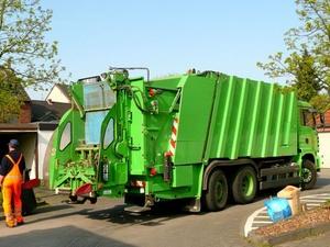 Mülltaucher kommen nachts