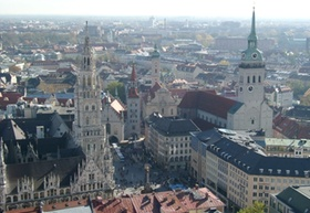 Wohnkostenanalyse des IVD, Platz 1: München
