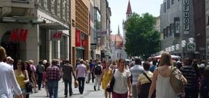 Münchner Kaufingerstraße meistbesuchte Einkaufsmeile