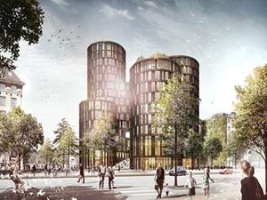"Züblin A/S realisiert ""Axeltorv, AT2"" in Kopenhagen"