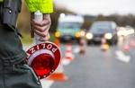 Verkehrskontrolle durch die Polizei, Deutschland, Europa